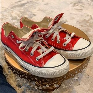 All Star Converse Red Canvas